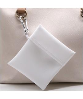 Sacchetto Porta-Mascherina Personalizzabile con moschettone