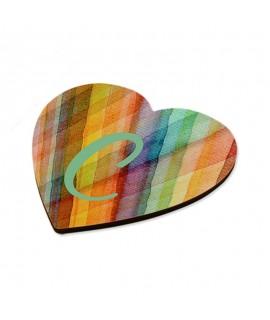 Magnete in MDF a cuore Personalizzabile