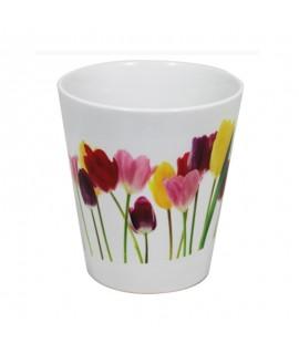 Vaso per fiori in Ceramica Personalizzabile
