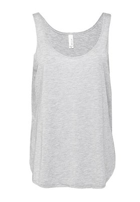 Tank Top Flowy spacco laterale