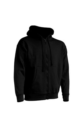 Zipped Hooded Sweater