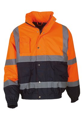 Giacca Bomber Fluo 2-Tone