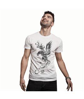 T-shirt La Fenice scala di Grigi