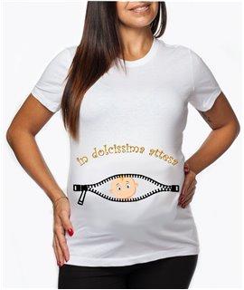 T-shirt MAMMA in dolce attesa