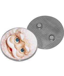 Magnete in alluminio ROTONDO Personalizzabile