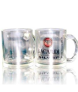 Tazza in vetro Trasparente Personalizzabile