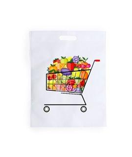 Shopper in TNT con manico a fagiolo Personalizzabile