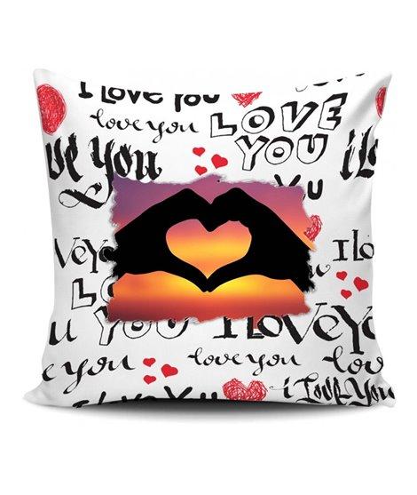 Federa cuscino cm.40x40 LoveYou Personalizzabile