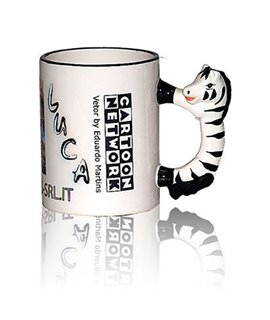 Tazza con Manico a Zebra Personalizzabile