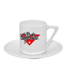Tazzina caffè con piattino Personalizzabile